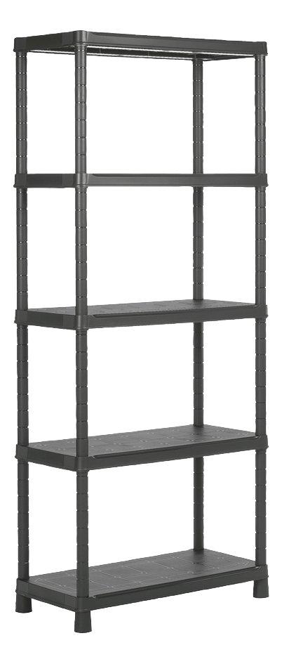 Keter Kis Étagère de rangement Plus Shelf 50 noir