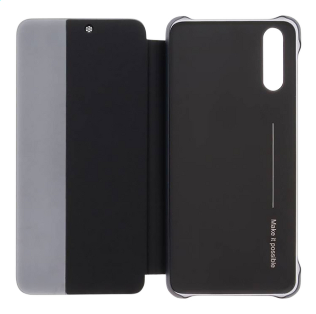 Image pour Huawei foliocover View pour Huawei P20 noir à partir de ColliShop