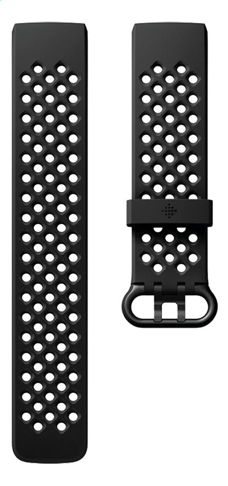 Afbeelding van Fitbit armband sportband voor Charge HR 3 L zwart from ColliShop