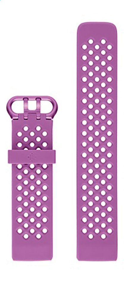 Afbeelding van Fitbit armband sportband voor Charge HR 3 S violet from ColliShop