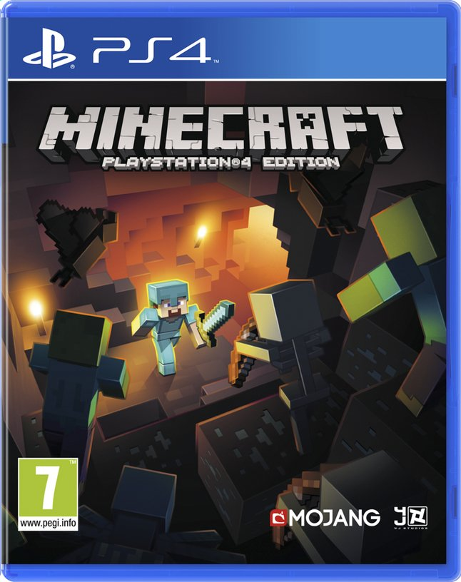 Afbeelding van PS4 Minecraft ENG/FR from ColliShop