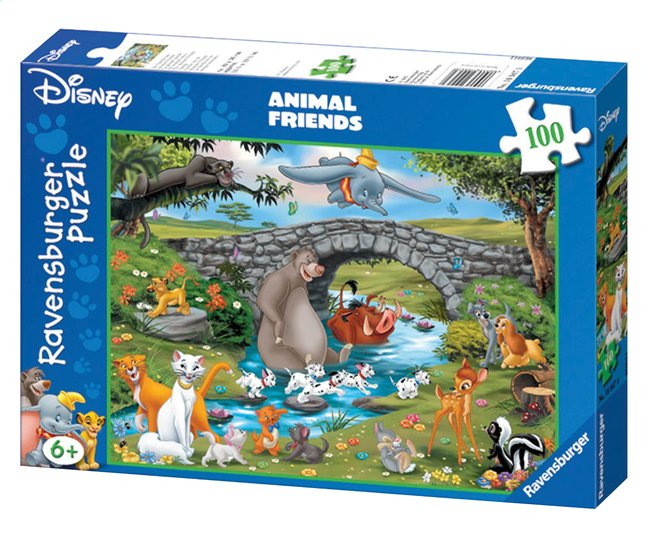 Afbeelding van Ravensburger puzzel Animal Friends from ColliShop