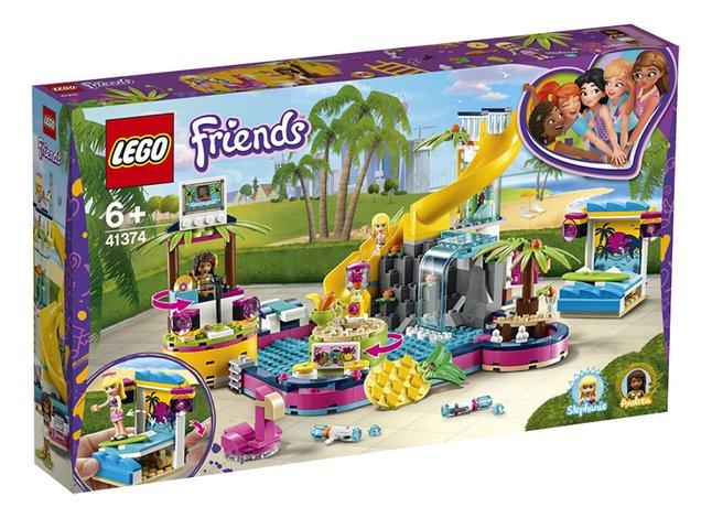 Afbeelding van LEGO Friends 41374 Andrea's zwembadfeest from ColliShop