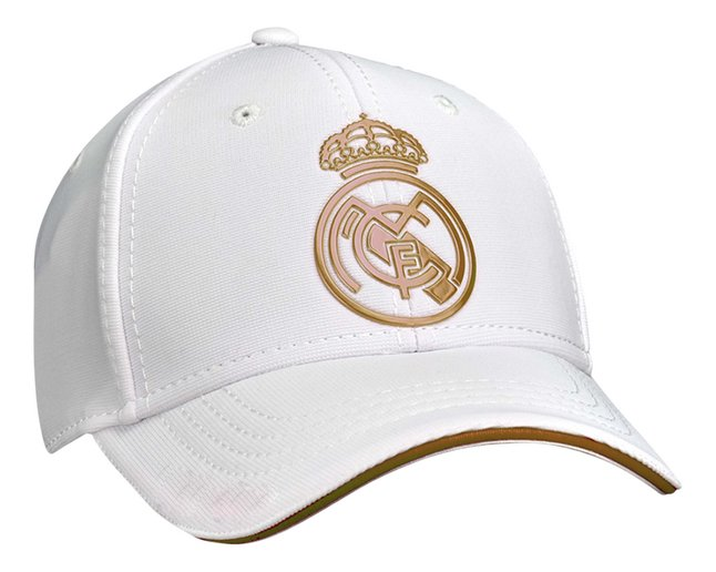 Casquette Real Madrid blanc/or