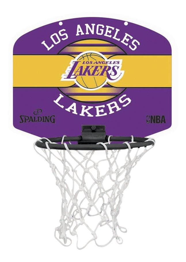 Image pour Spalding panneau de basket Micro-Mini LA Lakers + miniballon à partir de ColliShop