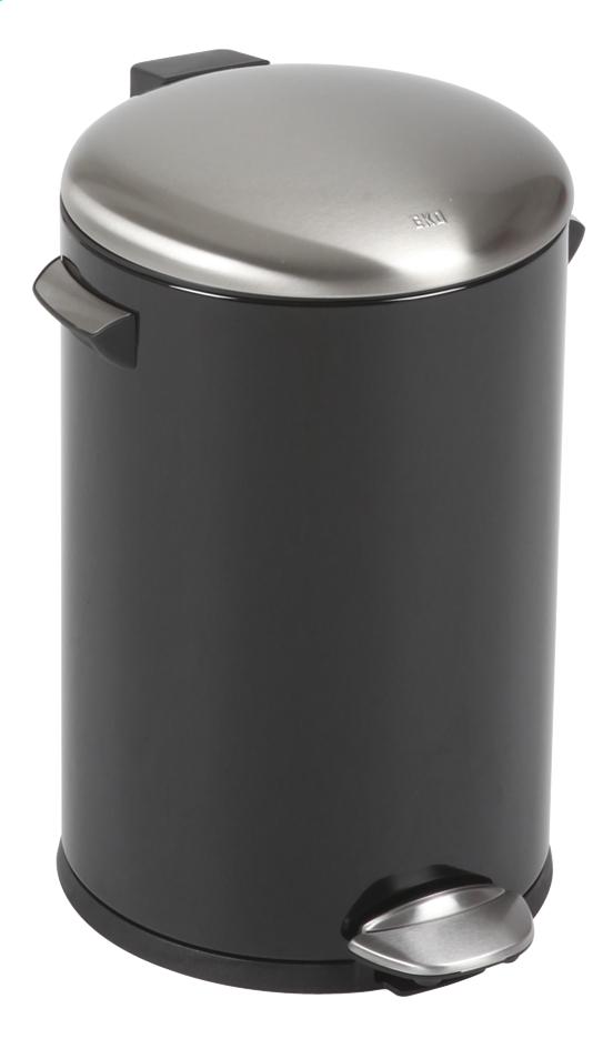 Image pour Eko poubelle à pédale Belle noir mat 12 l à partir de ColliShop