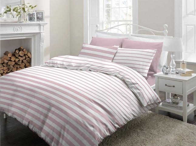 Afbeelding van Sleepnight Dekbedovertrek Mandy pink katoen from ColliShop