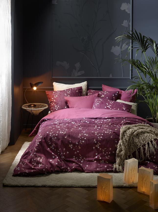 Image pour De Witte Lietaer Housse de couette Violetta Heather rose flanelle à partir de ColliShop