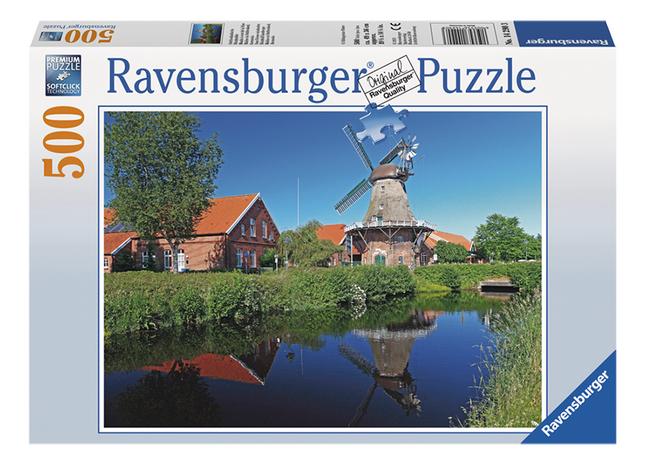 Afbeelding van Ravensburger puzzel Oost-Friese windmolen from ColliShop
