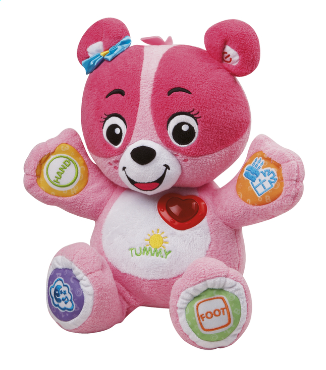 Afbeelding van VTech Nina Mon ourson à personnaliser rose FR from ColliShop