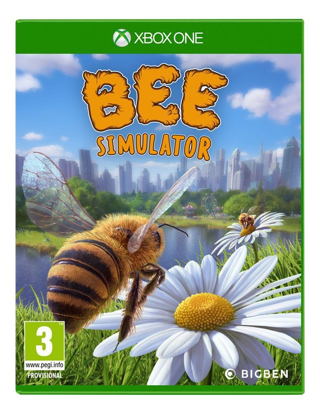 Afbeelding van Xbox One Bee Simulator NL/FR from ColliShop