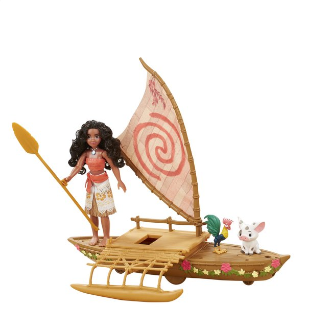 Image pour Set de jeu Disney Vaiana avec bateau à partir de ColliShop