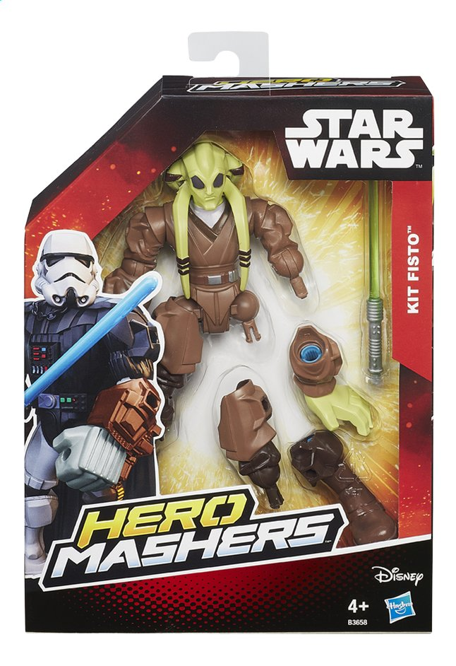 Image pour Figurine Star Wars Hero Mashers Kit Fisto à partir de ColliShop
