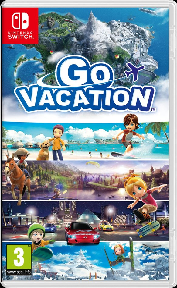 Nintendo Switch Go Vacation FR
