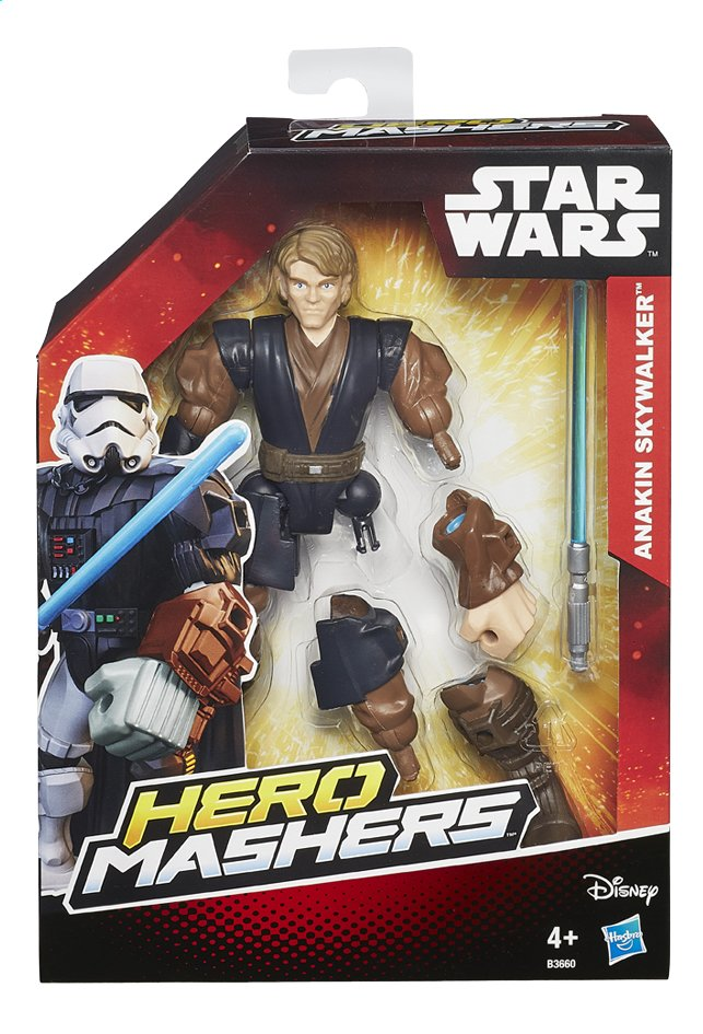 Afbeelding van Figuur Star Wars Hero Mashers Anakin Skywalker from ColliShop