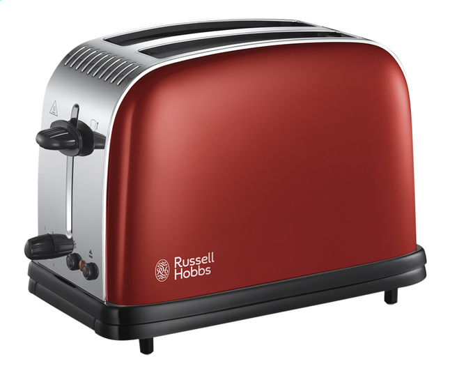 Image pour Russell Hobbs Grille-pain Colours Plus flame red à partir de ColliShop
