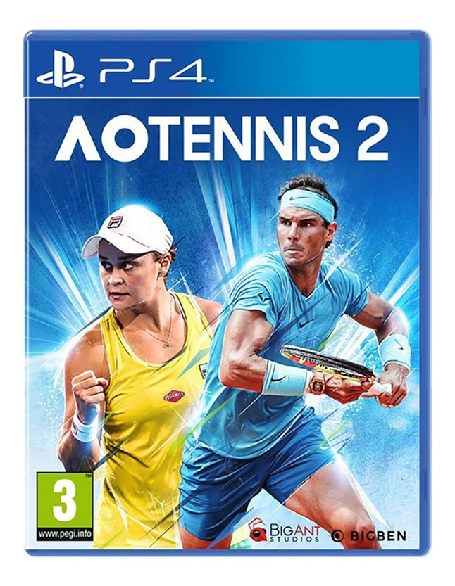 PS4 AO Tennis 2 FR/NL