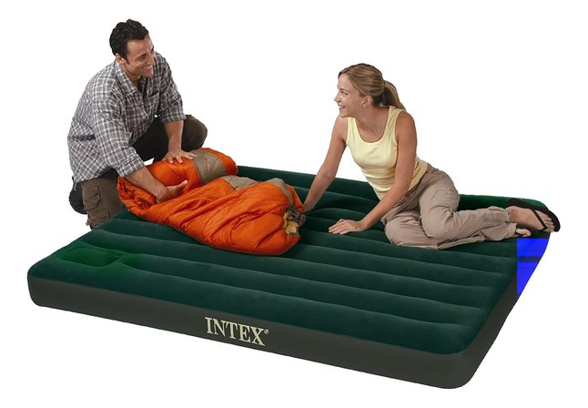 Afbeelding van Intex Luchtmatras voor 2 personen Downy Queen from ColliShop