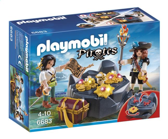 Afbeelding van Playmobil Pirates 6683 Koninklijke schatkist from ColliShop