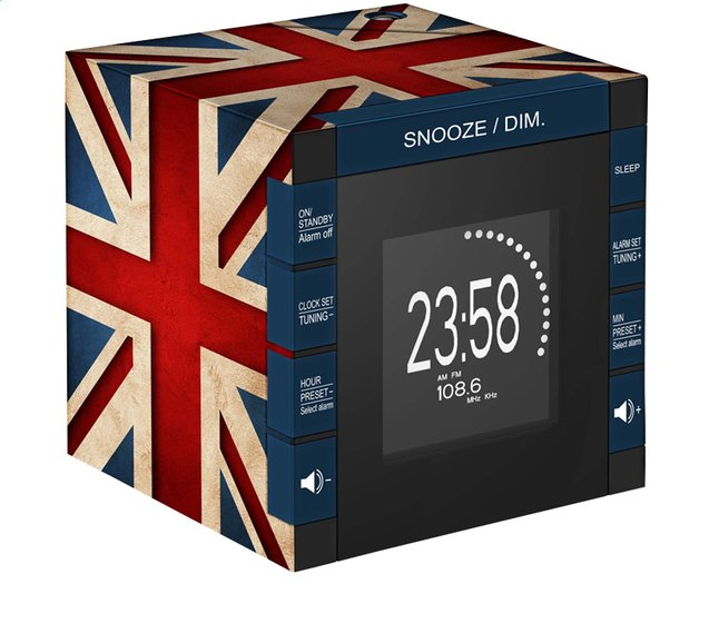 Image pour bigben radio-réveil RR70 avec projection Great Britain à partir de ColliShop