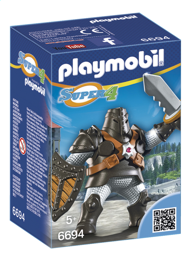 Afbeelding van Playmobil Super 4 6694 Colossus from ColliShop