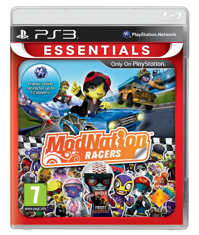 Afbeelding van PS3 ModNation Racers Essentials ENG/FR from ColliShop