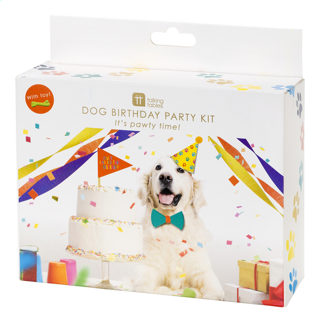 Afbeelding van Party set Dog Birthday Party Kit from ColliShop