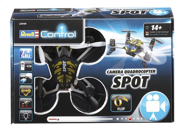 Afbeelding van Revell Camera Quadrocopter RC Spot from ColliShop