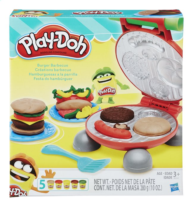 Afbeelding van Play-Doh Burger Barbecue from ColliShop