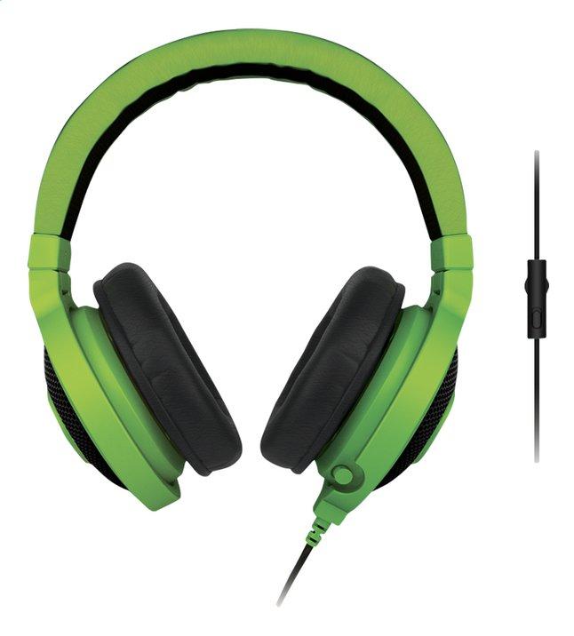 Image pour Razer casque-micro Kraken Pro eSport Gaming vert à partir de ColliShop