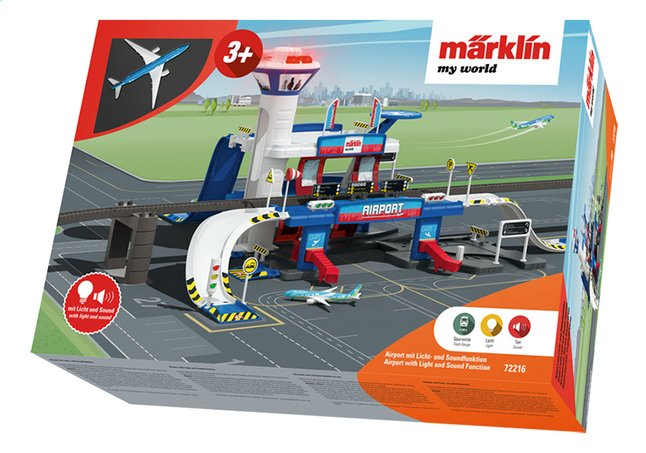 Afbeelding van Märklin speelset My World Airport from ColliShop