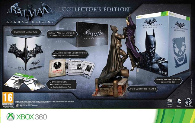 Afbeelding van XBOX 360 Batman: Arkham Origins Collector's Edition E/F from ColliShop