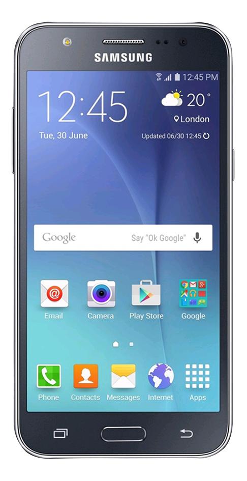 Afbeelding van Samsung smartphone Galaxy J5 8 GB zwart from ColliShop