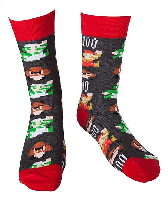 Afbeelding van Sokken Nintendo Mario Pixel Art 39/42 from ColliShop