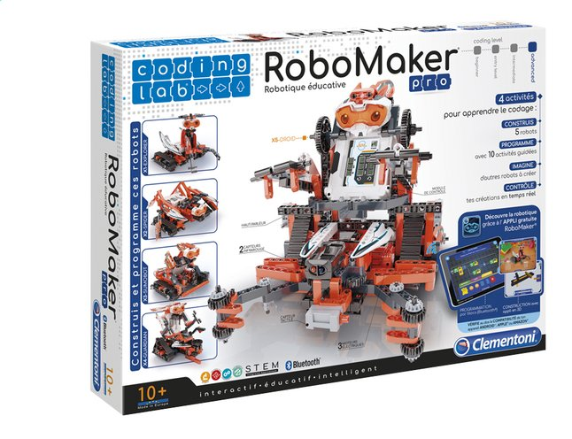 Clementoni Coding lab RoboMaker Robotique éducative