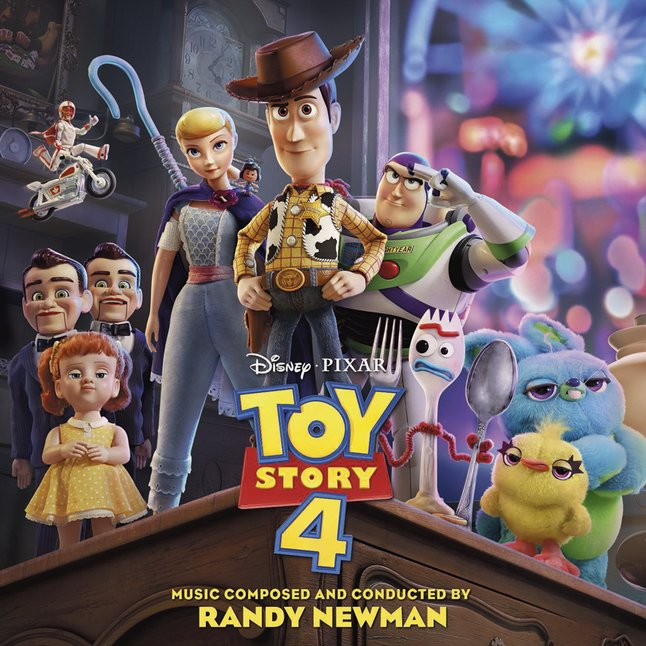 Cd Toy Story 4