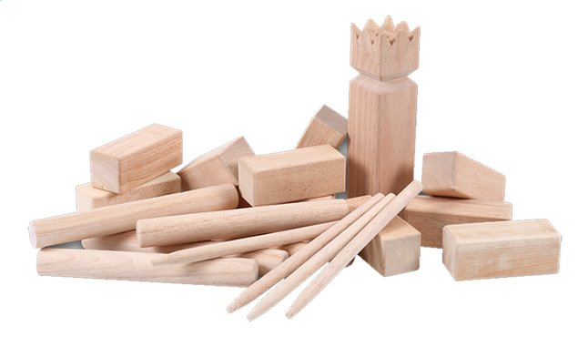 Afbeelding van Viking Kubb Rubberwood from ColliShop