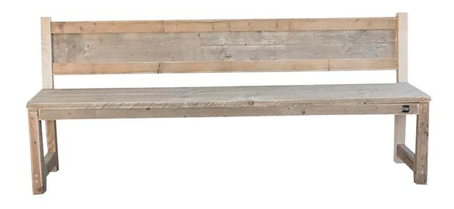 Dutchwood tuinbank met rugleuning 200 cm