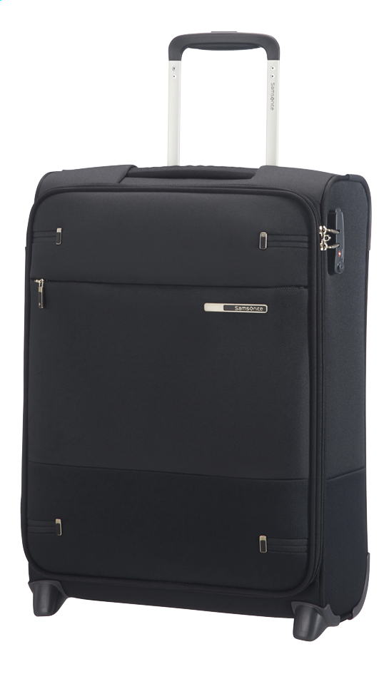 Afbeelding van Samsonite Zachte reistrolley Base Boost 40 Upright black 55 cm from ColliShop