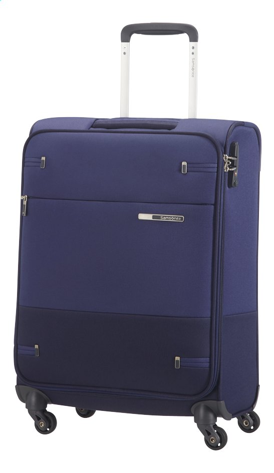 Afbeelding van Samsonite Zachte reistrolley Base Boost 40 Spinner blue 55 cm from ColliShop