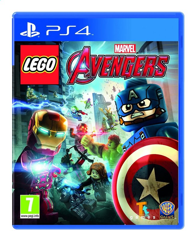 Afbeelding van PS4 LEGO: Marvel's Avengers Silver ENG/FR from ColliShop