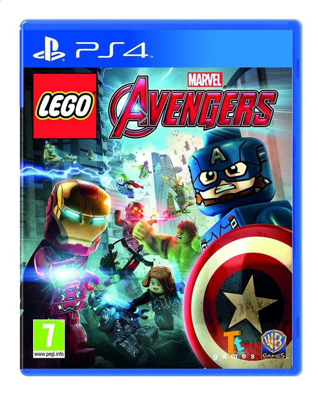Image pour PS4 LEGO: Marvel's Avengers Silver FR/ANG à partir de ColliShop
