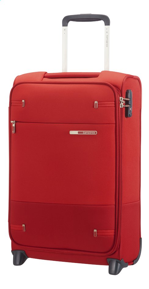 Afbeelding van Samsonite Zachte reistrolley Base Boots 35 Upright red 55 cm from ColliShop