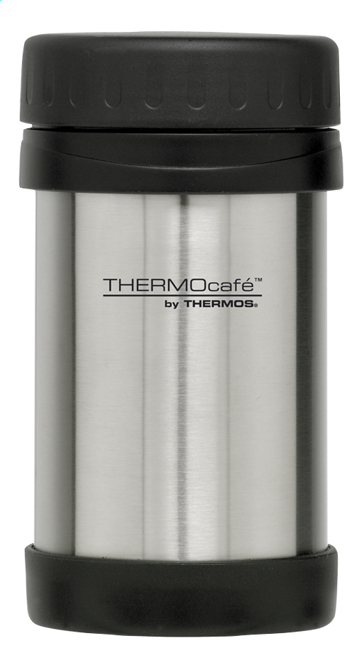Image pour Thermocafé by Thermos porte-aliments aspect inox/noir 0.5 l à partir de ColliShop