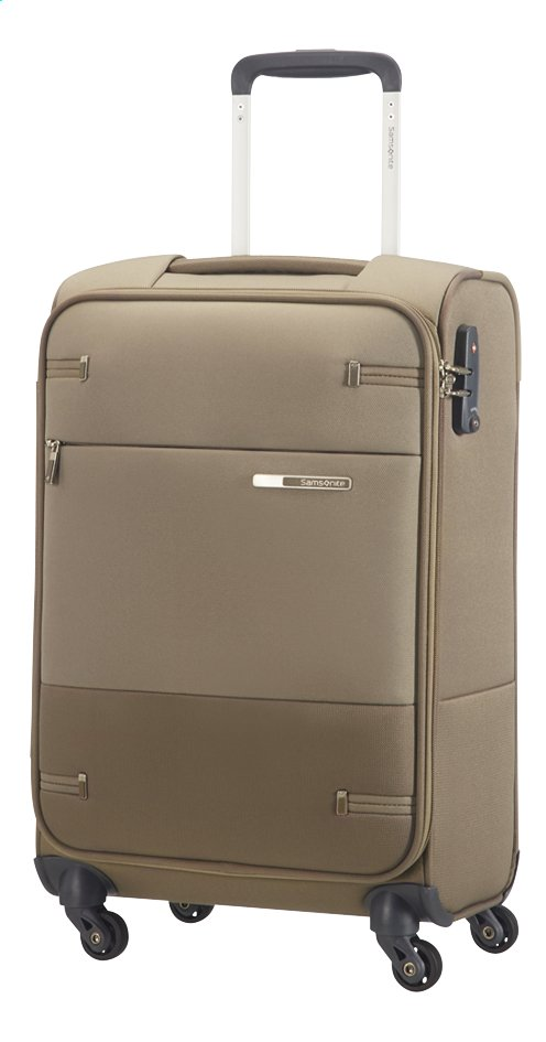 Afbeelding van Samsonite Zachte reistrolley Base Boost 35 Spinner walnut 55 cm from ColliShop