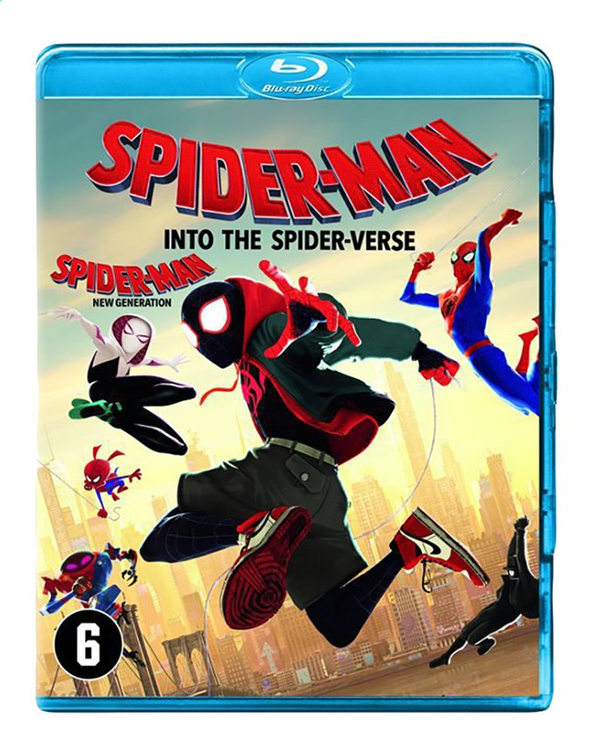 Afbeelding van Blu-ray Spider-Man Into The Spider-Verse from ColliShop