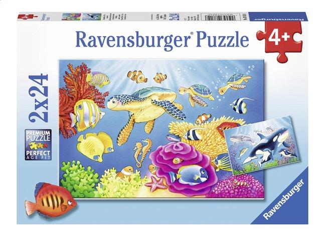 Afbeelding van Ravensburger puzzel 2-in-1 Kleurrijke onderwaterwereld from ColliShop