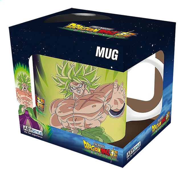 Image pour Mug Dragon Ball Broly Goku à partir de ColliShop