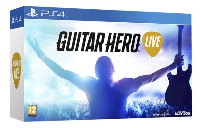 Afbeelding van PS4 Guitar Hero Live + gitaarcontroller FR from ColliShop