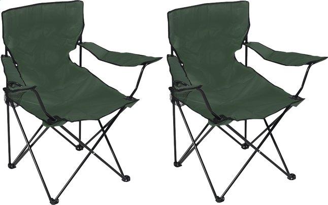 Image pour Set de 2 fauteuils de camping Bahia vert à partir de ColliShop